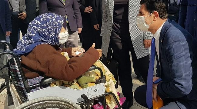 Başkan Güngör ilçe ziyaretlerine aralıksız devam ediyor