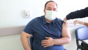 Belediye Başkanı korona aşısı oldu