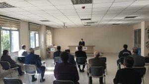 Burhaniye'de kapsamlı koronavirüs toplantısı yapıldı