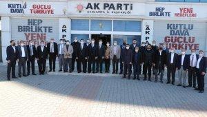 Canpolat AK Parti teşkilatıyla bir araya geldi