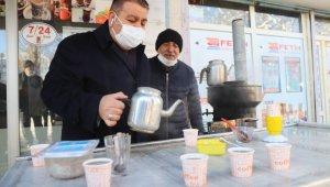 Çaylar Başkan Sunar'dan