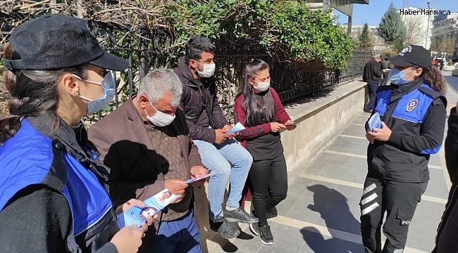 Cizre polisi vatandaşlara 155 hattını anlattı