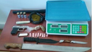 Çorum'daki uyuşturucu operasyonunda 2 tutuklama