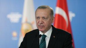 """Cumhurbaşkanı Erdoğan: """"Türkiye'yi dünyanın en büyük 10 ülkesi arasına sokmakta kararlıyız"""""""