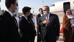 Dışişleri Bakanı Çavuşoğlu, Katar'da