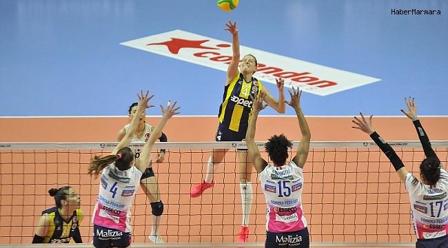 Fenerbahçe, Igor Gorgonzola Novara'ya 3-1 mağlup oldu