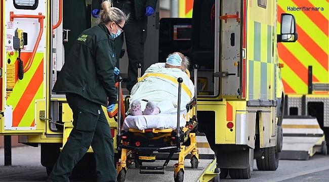 İngiltere'de son 24 saatte 548 can kaybı