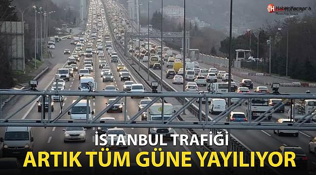 İstanbul'da korkulan eşik aşıldı: Trafik, artık tüm güne yayılıyor
