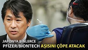 Japonya Binlerce Pfizer/BioNTech aşısını çöpe atacak!