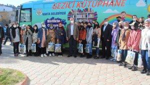 Kahta'da 350 öğrenciye 2 bin kitap desteği