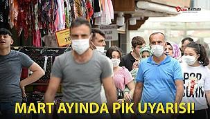 Koronavirüs vakalarında 'mart ayında yeni pik' uyarısı!