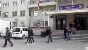 """Osmaniye'de """"torbacı"""" operasyonuna 10 tutuklama"""