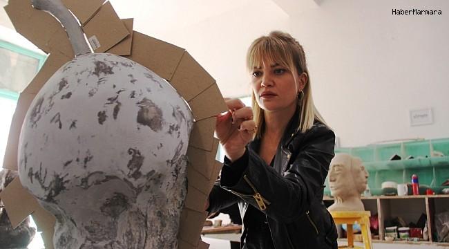 Pandemi sürecini Bodrum'da geçiren ünlü isimler sanata merak sardı