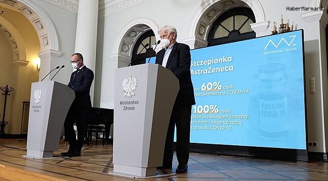 Polonya, AstraZeneca aşısının 60 yaş altı vatandaşlara yapılmasına onay verdi