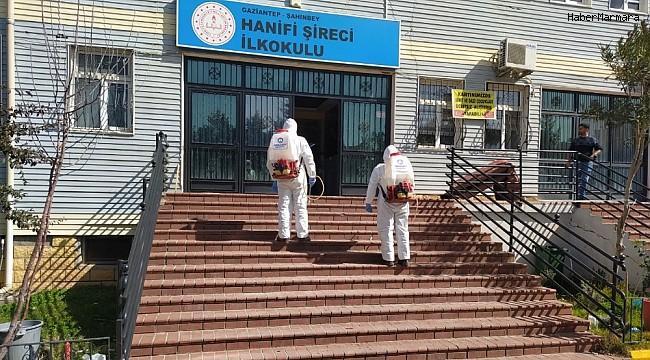 Şahinbey'de okullar yüz yüze eğitime hazırlanıyor