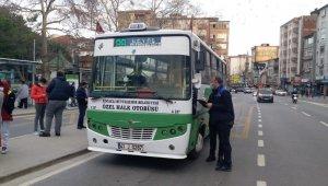 Toplu taşıma araçlarında korona virüs denetimleri sürüyor