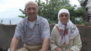 Trabzon'da çıkan yangında yaşlı çift hayatını kaybetti