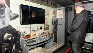 Vali Su, Çanakkale Savaşları Mobil Müzesini gezdi
