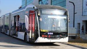 Yüzde 100 elektrikli ve yerli otobüs Ankara turunda