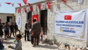 AK Parti İzmir milletvekili Binali Yıldırım'dan İdlibli mültecilere ev desteği