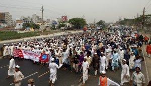Bangladeş'teki Modi karşıtı gösterilerde 12 kişi öldü