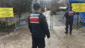 Bartın'da 3 köy karantinaya alındı