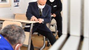 Başkan Alinur Aktaş, 6,7 deprem ile sallandı