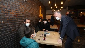 Başkan Alper Taban gençlerle buluştu