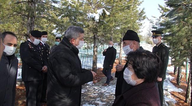 Bünyan'da şehitler dualar ile anıldı