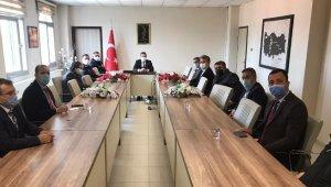 Burhaniye'de İlçe Hıfzıssıhha Kurulu toplandı