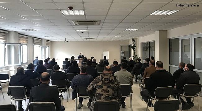Burhaniye'de toplantının gündemi koronavirüs salgını