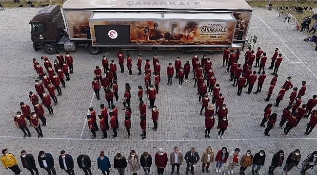 Çanakkale Savaşları mobil müzesi Türkiye yollarında