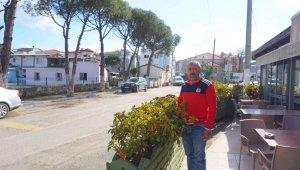 Foça'da esnaf yaz turizmine hazırlanıyor