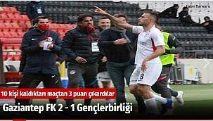 Gaziantep FK 2 - 1 Gençlerbirliği