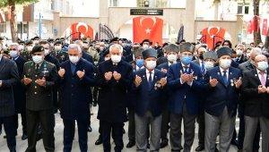 Isparta'da 18 Mart Şehitleri Anma Günü ve Çanakkale Zaferi'nin 106. yıldönümü