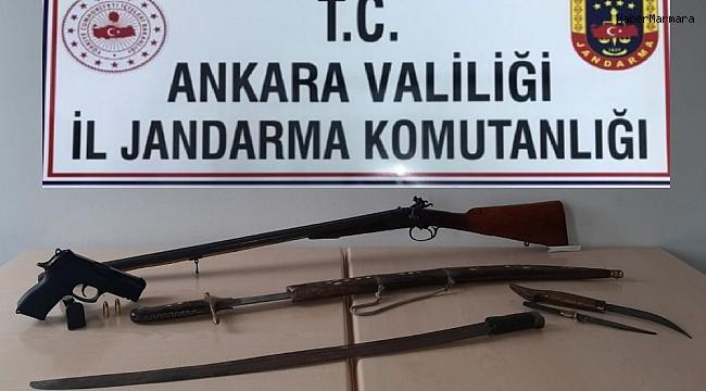 Jandarmadan silah kaçakçısına operasyon: 1 gözaltı