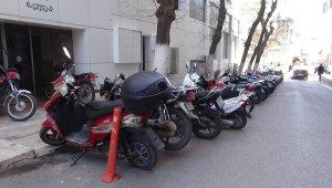 Kilis'te motosiklet parkları sorun oluyor