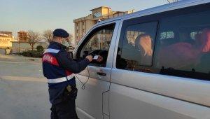 Kırıkkale'de 32 saatlik kısıtlamada 112 bin lira ceza