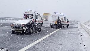 Kongre Dönüşü Belediye Başkanı Trafik Kazası Geçirdi
