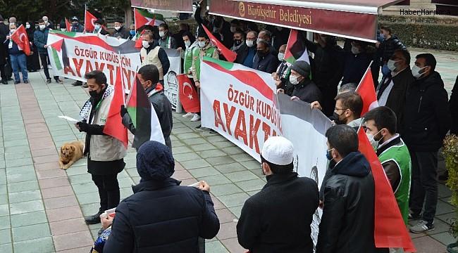 Kudüs'ün hakları ve özgürlüğü için ayaklandılar