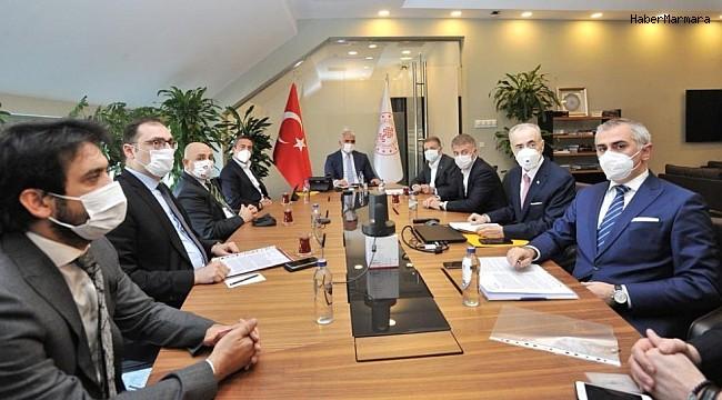 Kulüpler Birliği, Kültür ve Turizm Bakanı Mehmet Nuri Ersoy ile görüştü