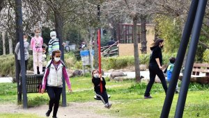 Pandeminin stresini Doğal Yaşam Parkı'nda attılar