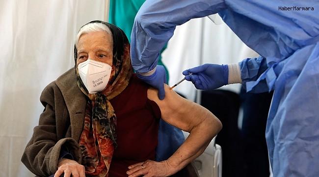 Romanyalı Baltag, 104 yaşında aşı oldu