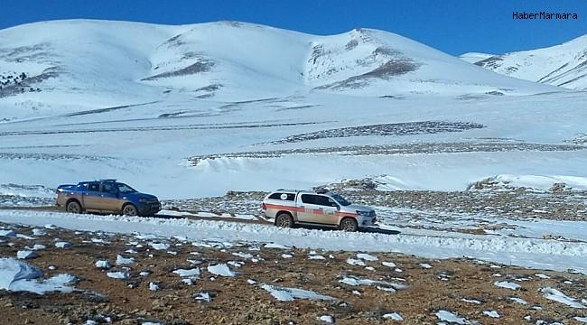 Tipide kaybolan gencin karda ayak izlerine rastlandı