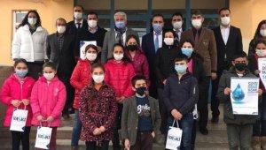 VASKİ, depremden etkilenen öğrencileri unutmadı