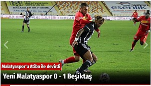 Yeni Malatyaspor 0 - 1 Beşiktaş