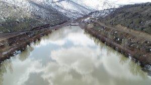 Zincidere Göleti maksimum seviyede su tuttu