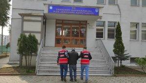 10 yıl 10 ay hapis cezası bulunan şahıs tutuklandı