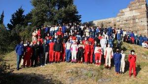 27 yıl aradan sonra Bodrum'da ralli heyecanı başladı
