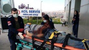 'Çatıyı onarayım' derken 4 metre yüksekten yere düşüp yaralandı